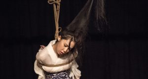 Akira Naka in Los Angeles Kinbaku Today 1