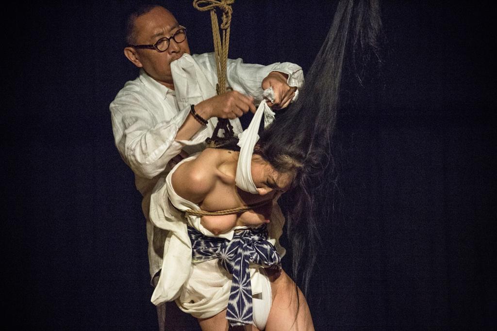 Akira Naka in Los Angeles Kinbaku Today 29