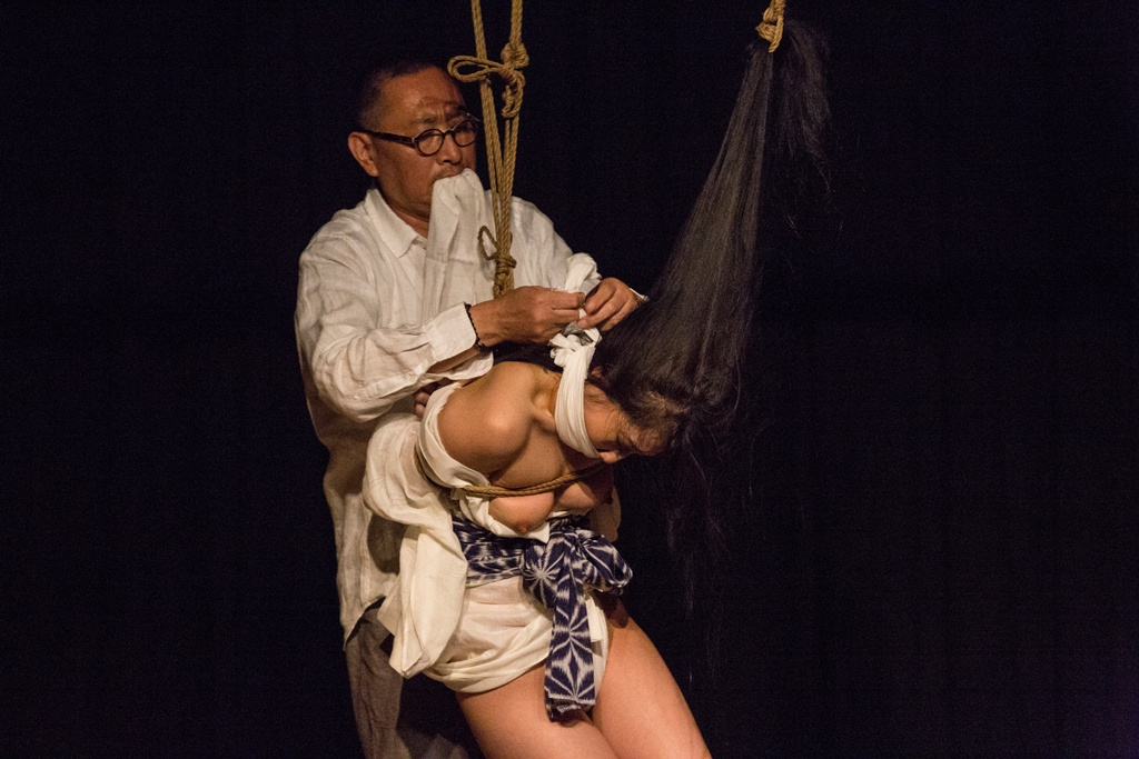 Akira Naka in Los Angeles Kinbaku Today 30