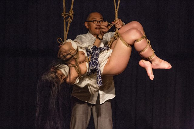 Akira Naka in Los Angeles Kinbaku Today 35