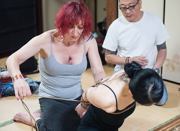 Interview with Isabelle Hanikamu Kinbaku Today 3