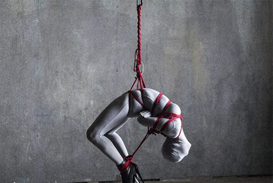 """On doing Kinbaku for music videos – an interview with Master """"K"""" on rigging the Bull's """"Come Unwound."""" Kinbaku Today 2"""