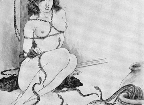 Hebizeme: Snake Torture Kinbaku Today 4